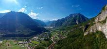 Panorama dal Ponte Tibetano